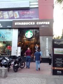 Starbucks - even in Pune